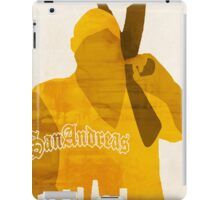 GTA San Andreas Minimalistic Design iPad Case/Skin