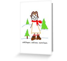 jenny quips:  Winter Fun! Greeting Card