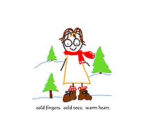 jenny quips:  Winter Fun! Photographic Print