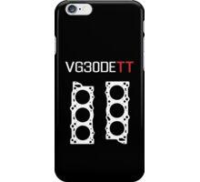 VG30DETT Engine Head Gasket Design - dark background iPhone Case/Skin