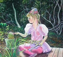Phoebe & the cactus by maria paterson