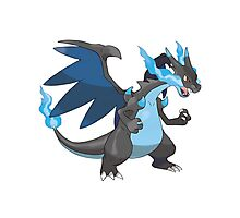Mega Evolution Charizard X Photographic Print