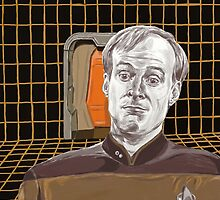 Star Trek TNG: Lt Broccoli  by Jaime Cartwright