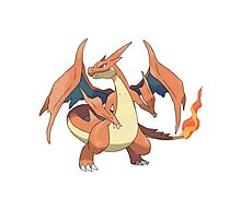 Mega Evolution Charizard Y Photographic Print