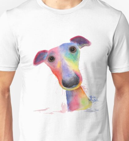 NOSEY DOG 'HANK' BY SHIRLEY MACARTHUR Unisex T-Shirt