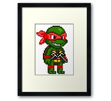 Raphael is Cool but Rude Framed Print