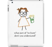 jenny quips: No Foam! iPad Case/Skin