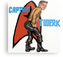 Captain Twerk Metal Print