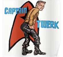 Captain Twerk Poster