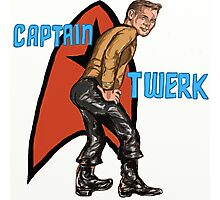 Captain Twerk Photographic Print