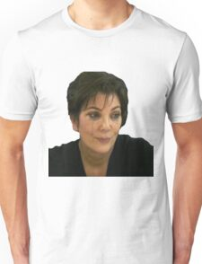 Kris jenner crying Unisex T-Shirt