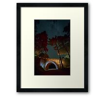 Bridge to the Stars Framed Print