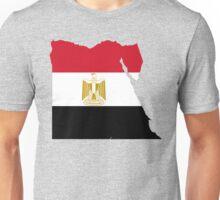 Egypt Flag Map Unisex T-Shirt