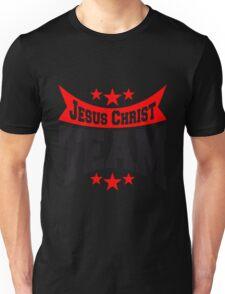 jesus christ team crew freunde spruch text tot kreuz cool design sünde gestorben  Unisex T-Shirt