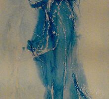 blue woman by Phil