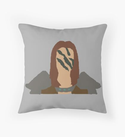 the colors of aela  Throw Pillow