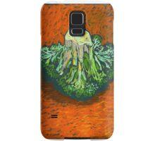 Broccoli in soft pastel. Simple still life. Samsung Galaxy Case/Skin