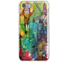 Send in the Clowns iPhone Case/Skin