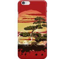 Bonsai Tree Karate Dojo iPhone Case/Skin