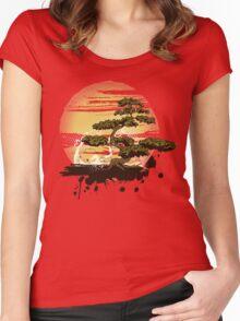 Bonsai Tree Karate Dojo Women's Fitted Scoop T-Shirt