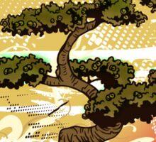 Bonsai Tree Karate Dojo Sticker
