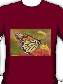 Monarch Of The Flowers T-Shirt