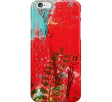 Carved blossoms iPhone Case/Skin