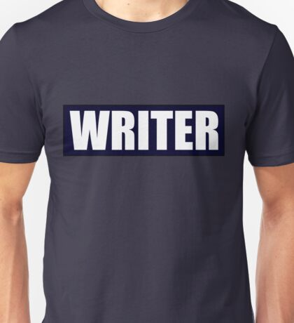 Castle's WRITER bullet proof vest Unisex T-Shirt