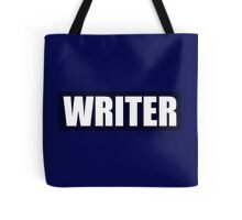 Castle's WRITER bullet proof vest Tote Bag