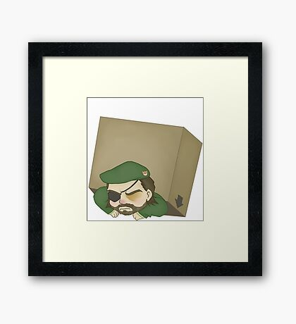 BB in a Box, Class A Framed Print