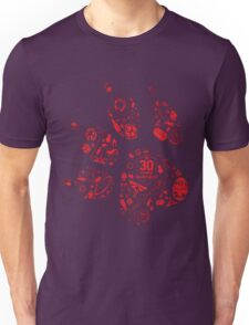 Naughty Dog - 30th Paw Unisex T-Shirt