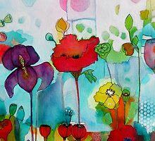 Watercolor iris by chriscozen
