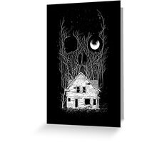 House of Death Greeting Card