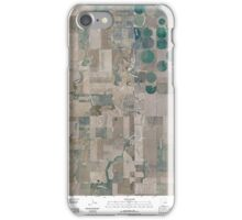 USGS TOPO Map Colorado CO Sunnydale 20100808 TM iPhone Case/Skin