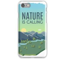 Nature is Calling iPhone Case/Skin