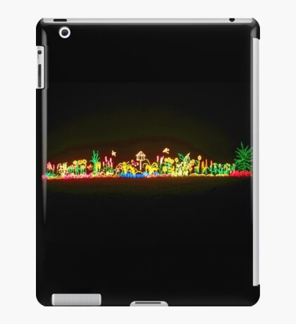 Holiday Lights at the Zoo iPad Case/Skin