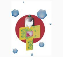 Origami Geisha  Kids Tee