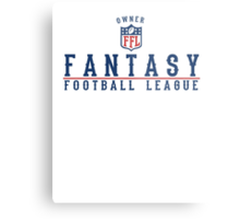 Fantasy Football Owner Metal Print