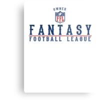 Fantasy Football Owner Metal Print