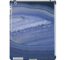 Blue Banded Agate Stone iPad Case/Skin