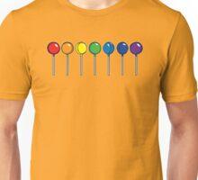 What color is your lollipop / sucker / candy Unisex T-Shirt
