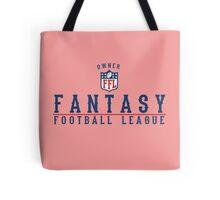 Fantasy Football Owner Tote Bag