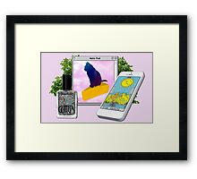 バーチャル Witch Girlfriend v.7.0.1 Framed Print