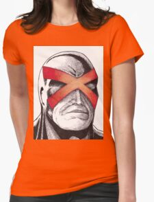 Cyclops Pen and Ink Womens Fitted T-Shirt
