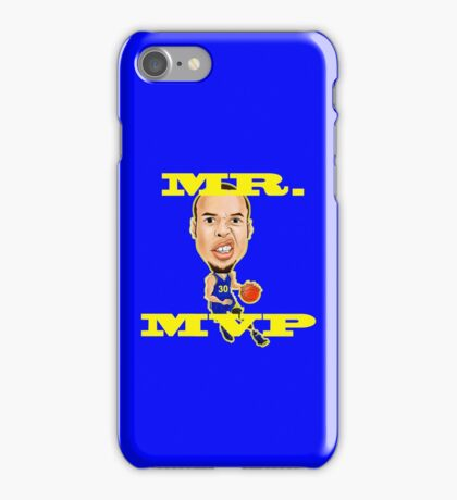 Steph Curry(Mr. MVP) iPhone Case/Skin