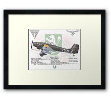 Junker Ju 87 G-1 Framed Print