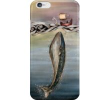 Jonah and the whale iPhone Case/Skin