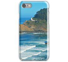 Heceta Head Lighthouse Distance iPhone Case/Skin
