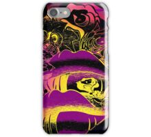 Lips Roses Flowers Senses Abstract iPhone Case/Skin