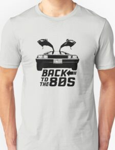 Back To The 80s Delorean  T-Shirt